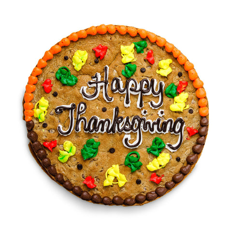 Thanksgiving Cookie Cake