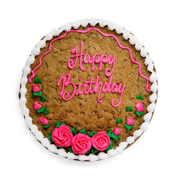 Remarkable Birthday Cookie Cake The Great Cookie Personalised Birthday Cards Veneteletsinfo