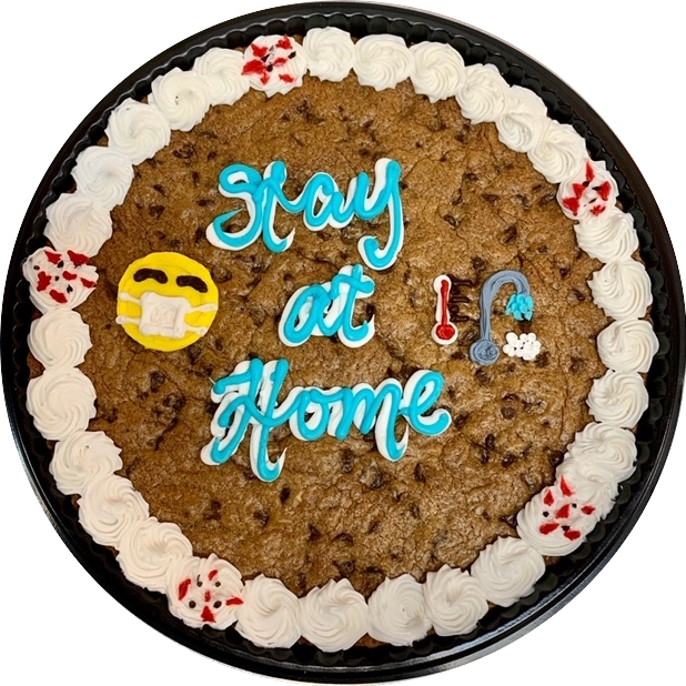 Stay at Home Cookie Cake