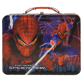 Amazing Spiderman Tin Lunchbox with 1 lb. Cookies