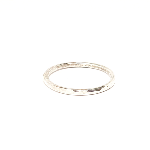 Silver Stacking Ring-Stacking Rings-Sophie-May Designs