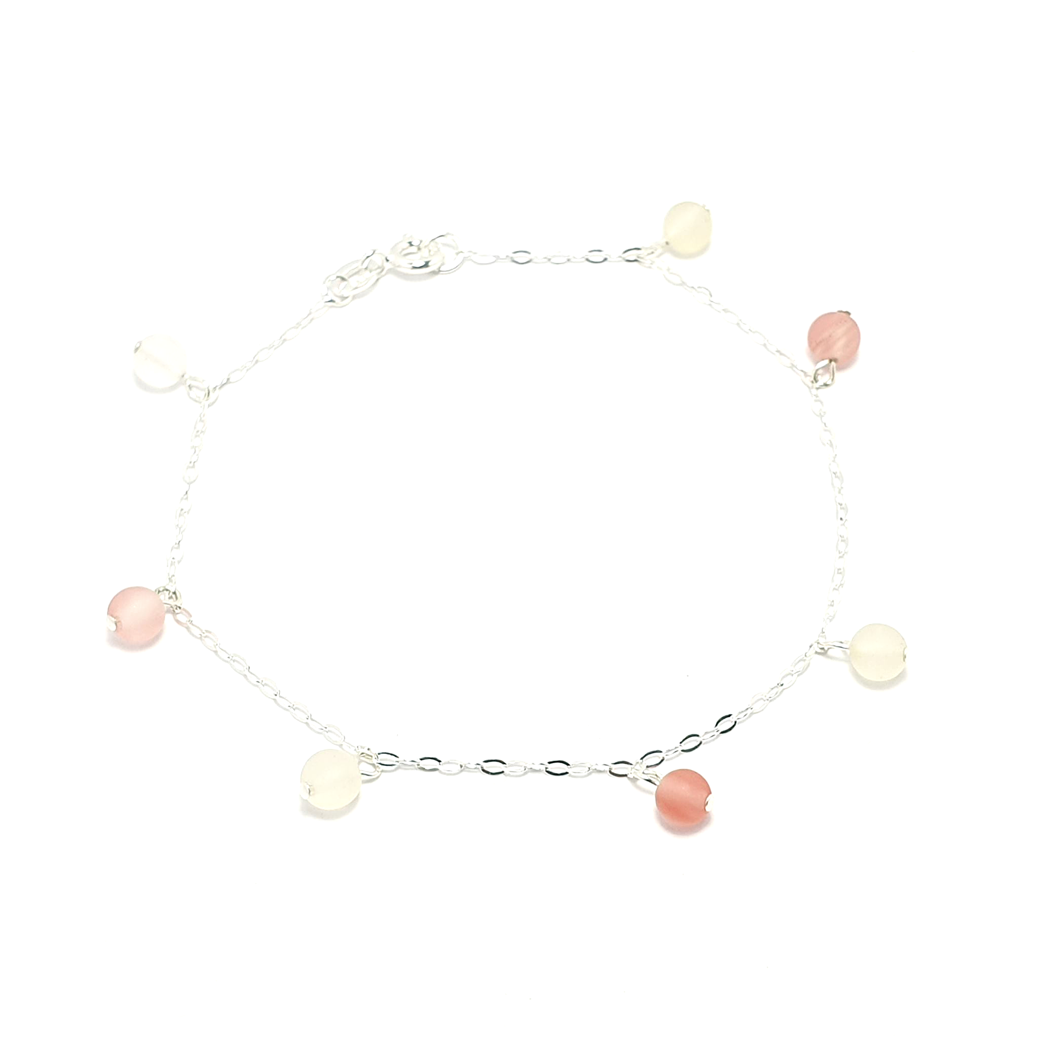 Cherry Quartz Drop Bracelet-Bracelet-Sophie-May Designs