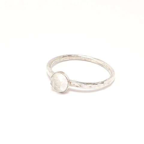 Moonstone Gemstone Ring-Stacking Rings-Sophie-May Designs