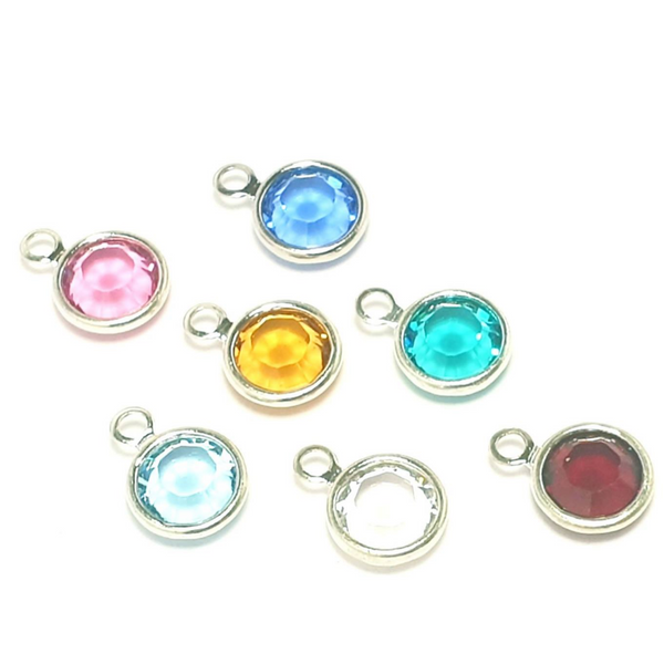 Add-on Swarovski birthstone charm-Accessory-Sophie-May Designs