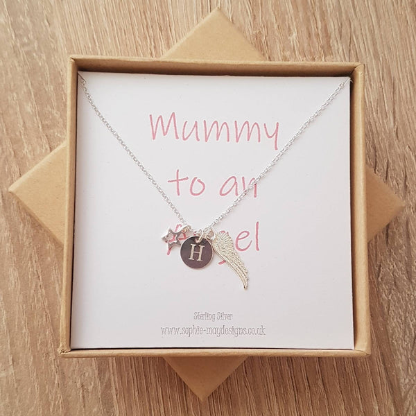Mummy to an Angel Necklace - Sophie-May Designs