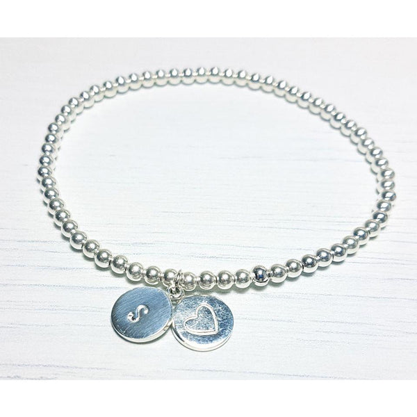 Graduation Initial Bracelet-Bracelet-Sophie-May Designs