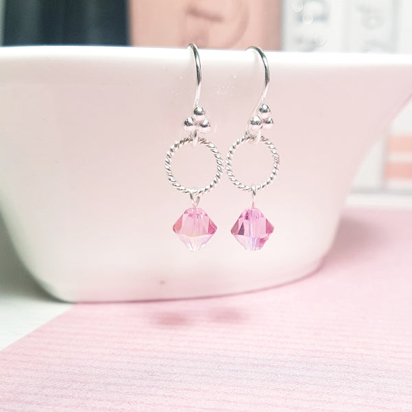 October birthstone earrings - Sophie-May Designs
