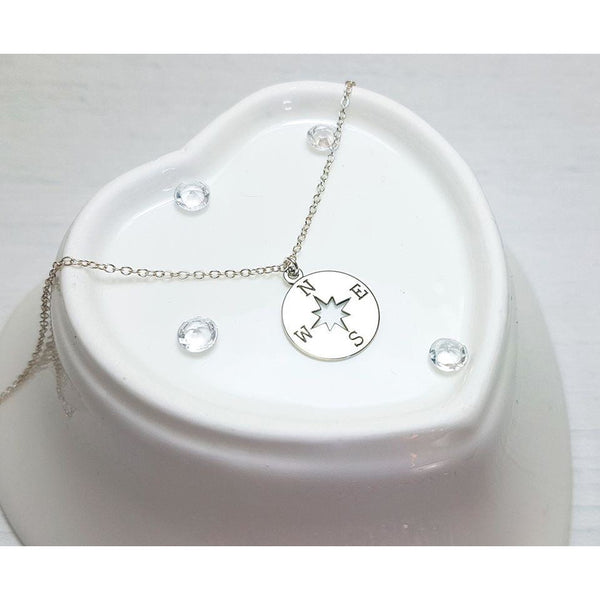 Graduation Compass Necklace - Sophie-May Designs