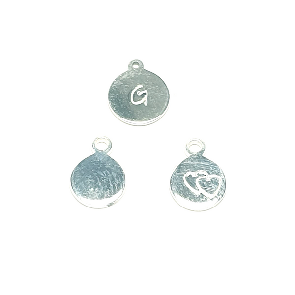 Add-on Sterling silver Hand Stamped Tag-Accessory-Sophie-May Designs