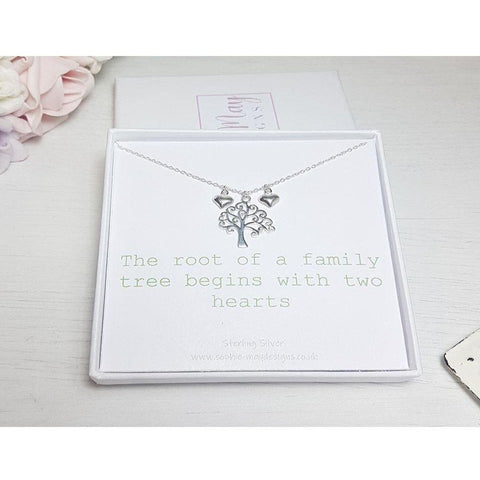 Family tree with hearts - Sophie-May Designs