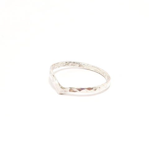 Wishbone Stacking Ring-Stacking Rings-Sophie-May Designs