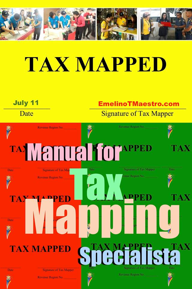 Manual for Tax Mapping - Emelino T Maestro