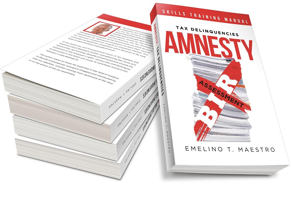 Professional Manual for 2019 Tax Delinquencies Amnesty - Emelino T Maestro