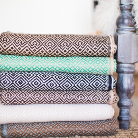 Pick an Alpaca Blend Throw Just For You