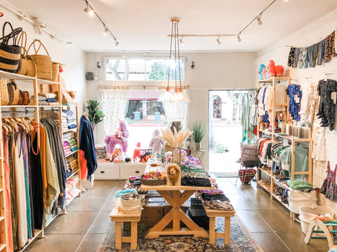 unique and locally owned clothing and home decor store in Santa Barbara, California
