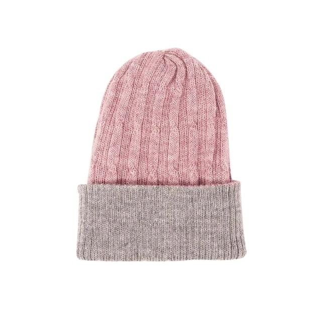 kids 100% baby alpaca beanie is soft, warm and natural fiber, reversible