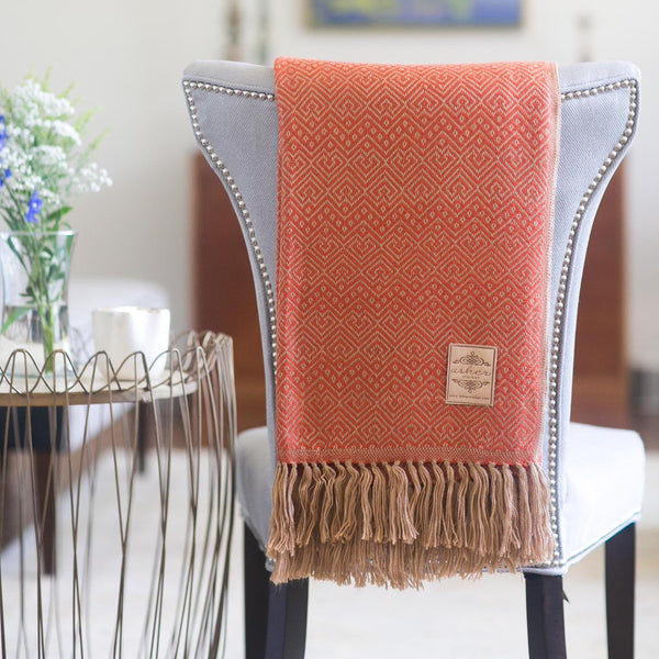 Sunset Alpaca Blend Throw-Asher Market soft, cozy and machine washable