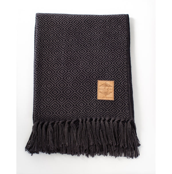 Stargazer Alpaca Blend Throw-Asher Market soft, cozy and machine washable