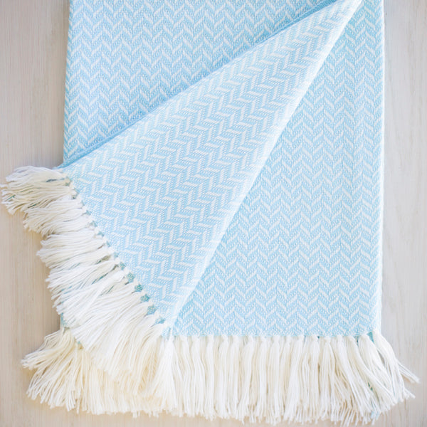 Bluebell Alpaca Blend Throw-Asher Market soft, cozy and machine washable