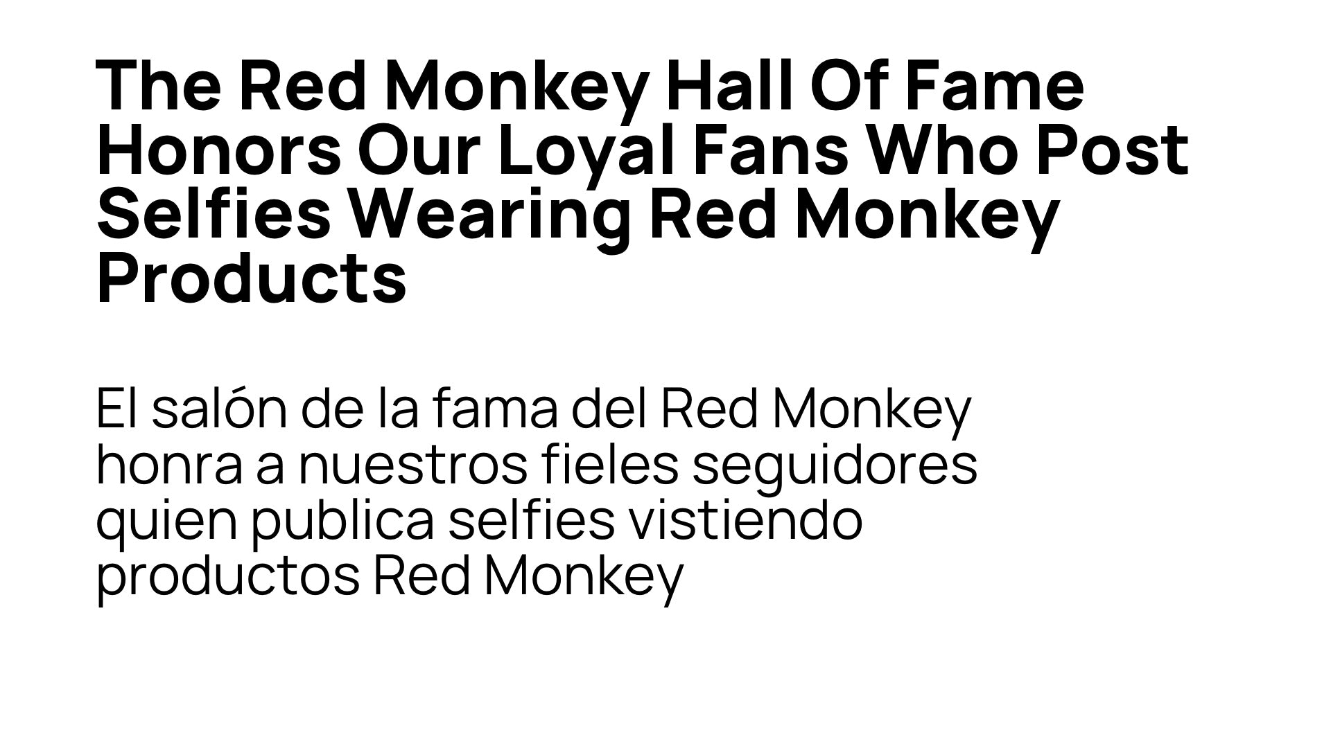 Red Monkey Hall OF Fame 2