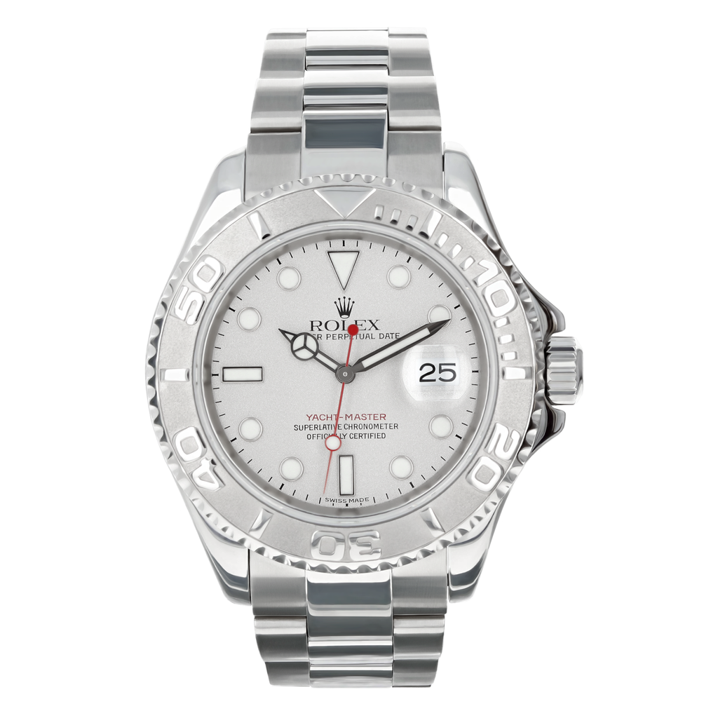 Mens Pre-owned Rolex Yachtmaster 40 - Silver Dial (5304465686683)