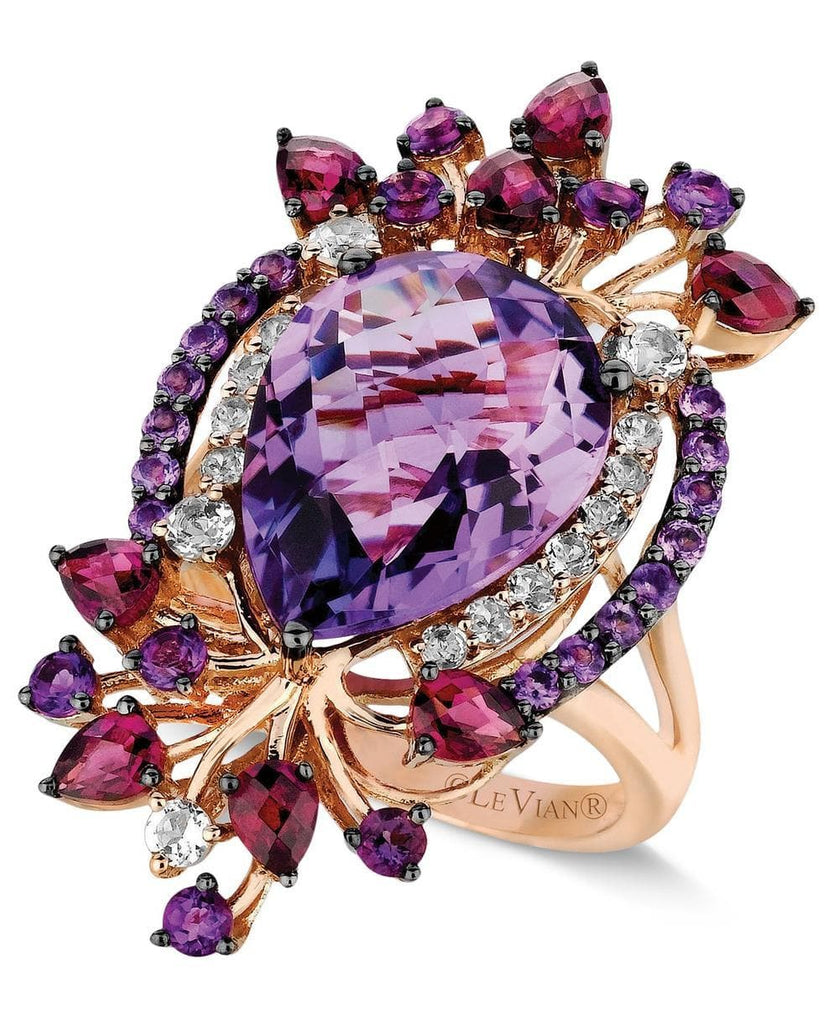 Le Vian Crazy Collection® Multi-Stone Ring in 14k Strawberry Rose Gold (8 ct. t.w.) (5303083565211)