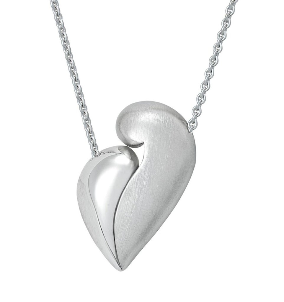 PETRA AZAR - NO GREATER LOVE - Magnetic Sterling Silver Necklace (4997287673900)