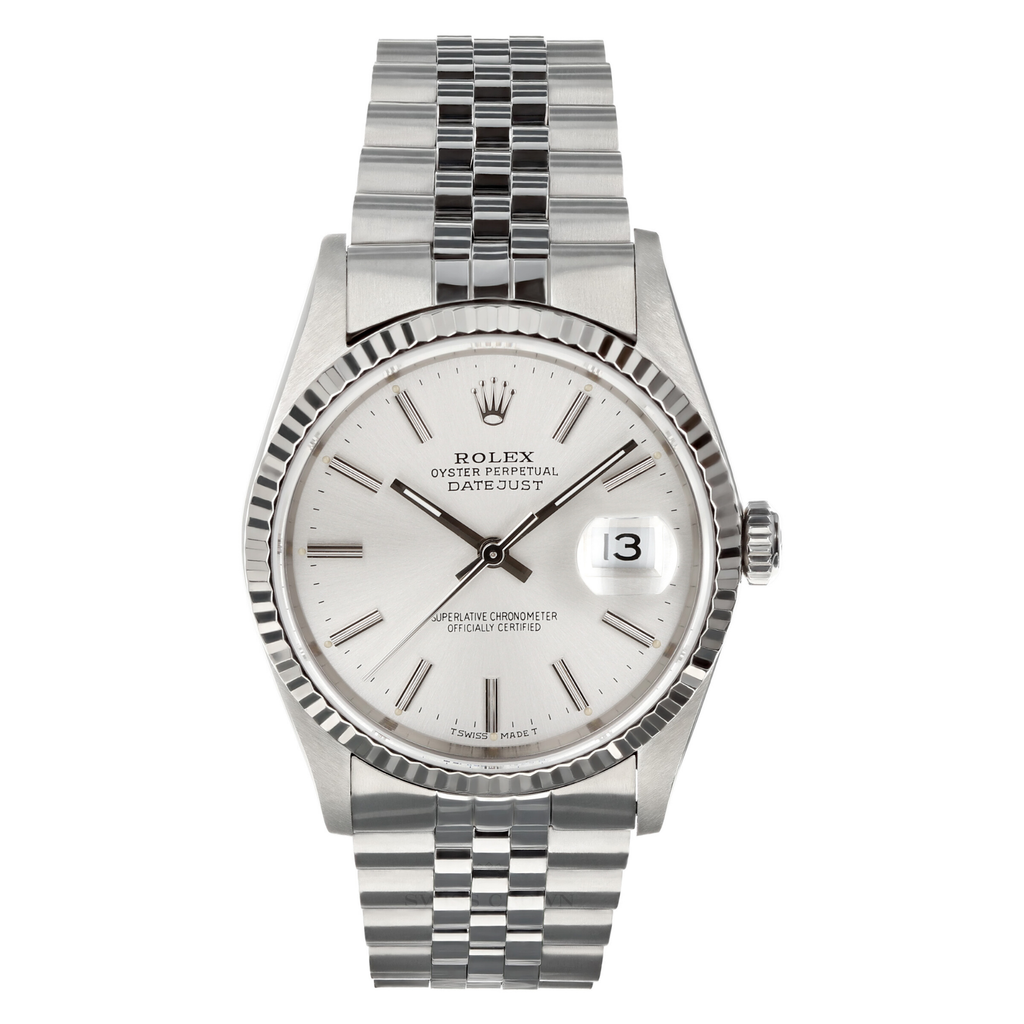 Mens Pre-owned Rolex Datejust 36 - Silver Dial (5304465064091)