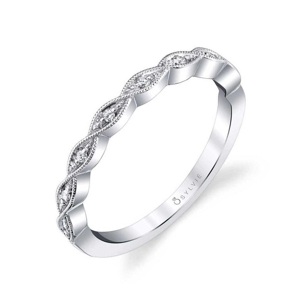 Stackable-Wedding-Band-B0040-WG-Sylvie.j (4781526450220)