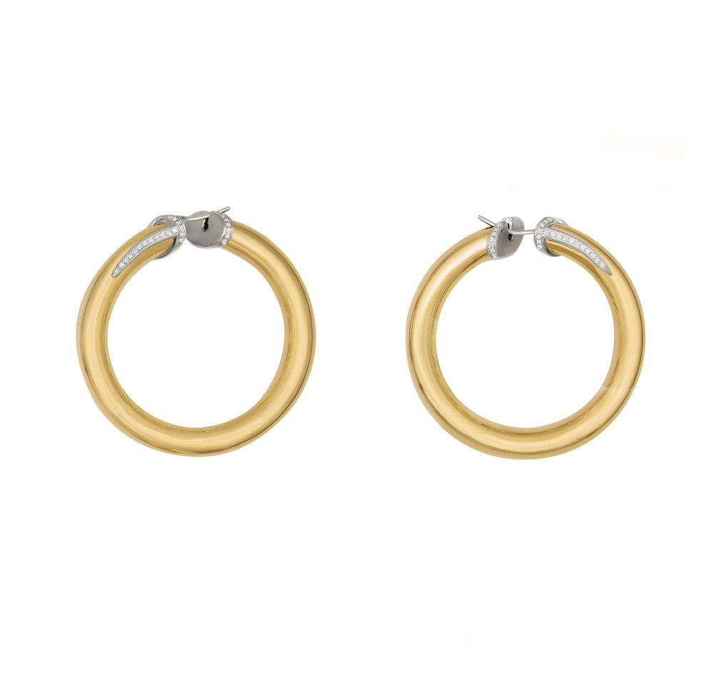 Matthia's & Claire Large Hoops (5383498498203)