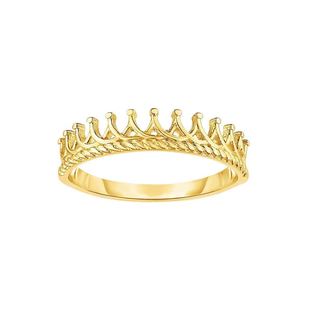 14kt Size-7 Yellow Gold Ring (5688346837147)