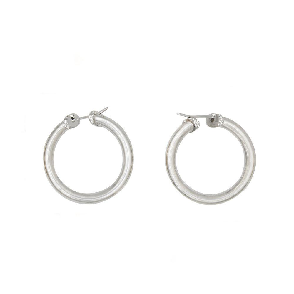 Matthia's & Claire Medium Hoops (5383498989723)