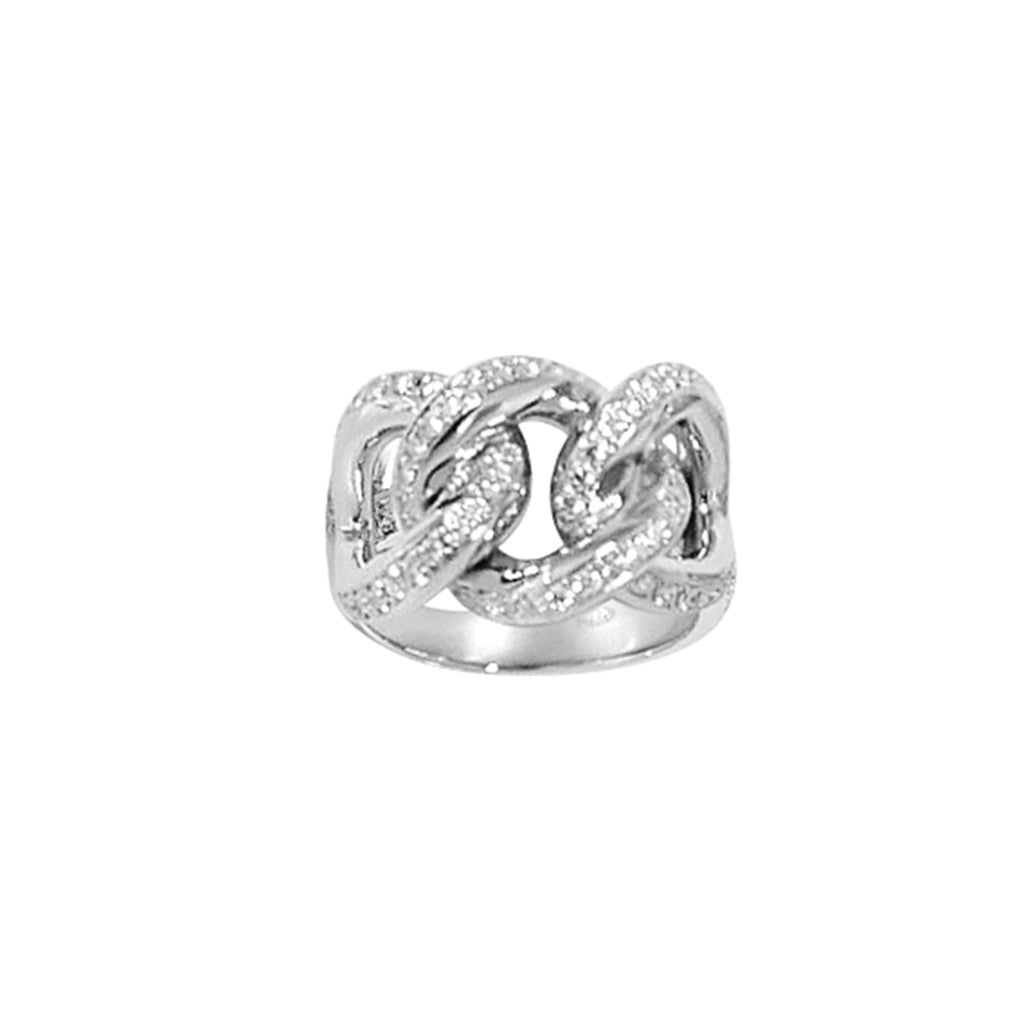 Matthia's & Claire Precious Links White Gold Ring (5383516160155)