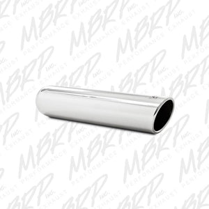 "MBRP Exhaust 3.5"" OD, 2.25"" inlet, 16"" in length, Angled Cut Rolled End, Weld on, T304 T5131"