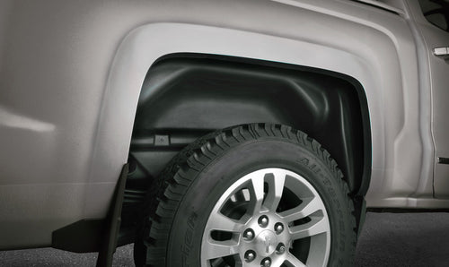 Rear Wheel Well Guards 19-20 Chevrolet Silverado 1500 Black Husky Liners