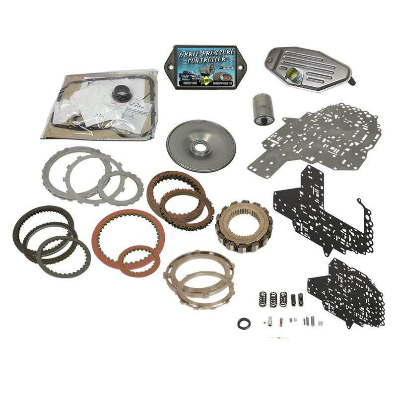 BD Diesel Build-It Trans Kit 2007.5-2018 Dodge Ram 2500, 3500 68RFE Stage 4 Master Kit c/w ProTect 68