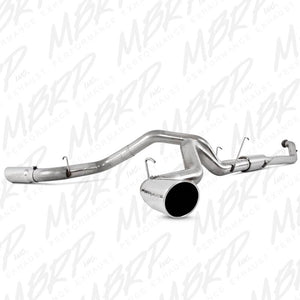 "MBRP Exhaust 4"" Turbo Back, Dual Side Exit, T409 S6128409"