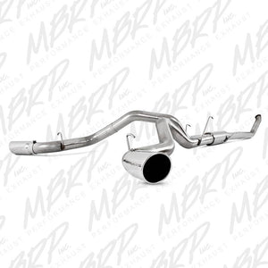 "MBRP Exhaust 4"" Turbo Back, Cool Duals (4WD only), T409 S6106409"