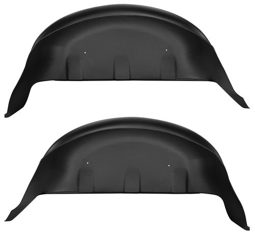 17-18 Ford F-250 Super Duty, 17-18 Ford F-350 Super Duty Rear Wheel Well Guards Black Husky Liners