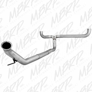 "MBRP Exhaust 4"" Turbo Back, Dual SMOKERS, AL S8120AL"