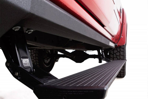 AMP Research 77154-01A PowerStep XL Electric Running Boards Plug N Play System for 2014-2018 Chevy / GMC 1500, 2015-2019 Chevy / GMC 2500, 3500, Gas Only, Crew Cab