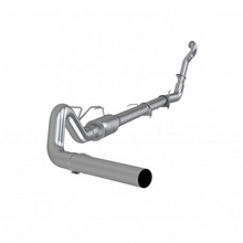"Load image into Gallery viewer, MBRP Exhaust 4"" Turbo Back Single Side Off-Road,  with muffler, ,Aluminized Downpipe 1994-1997 Ford F-250, F-350 Powerstroke 7.3L"
