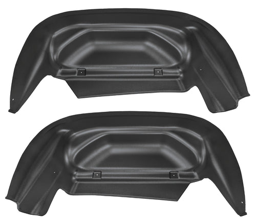 Husky Wheel Well Guards Rear 14-15 Silverado-Black