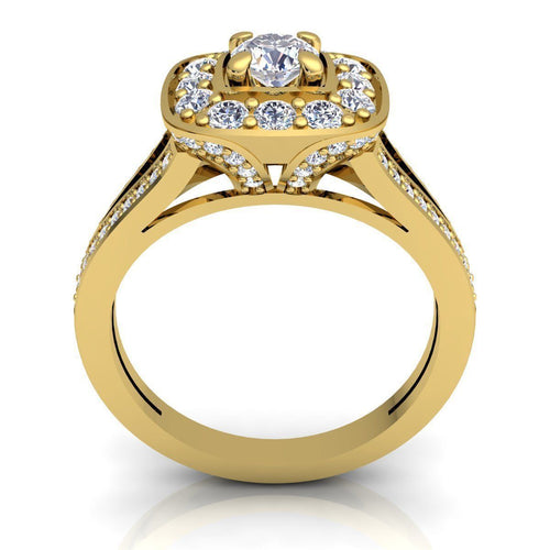 Blakeley Yellow Gold Engagement Ring
