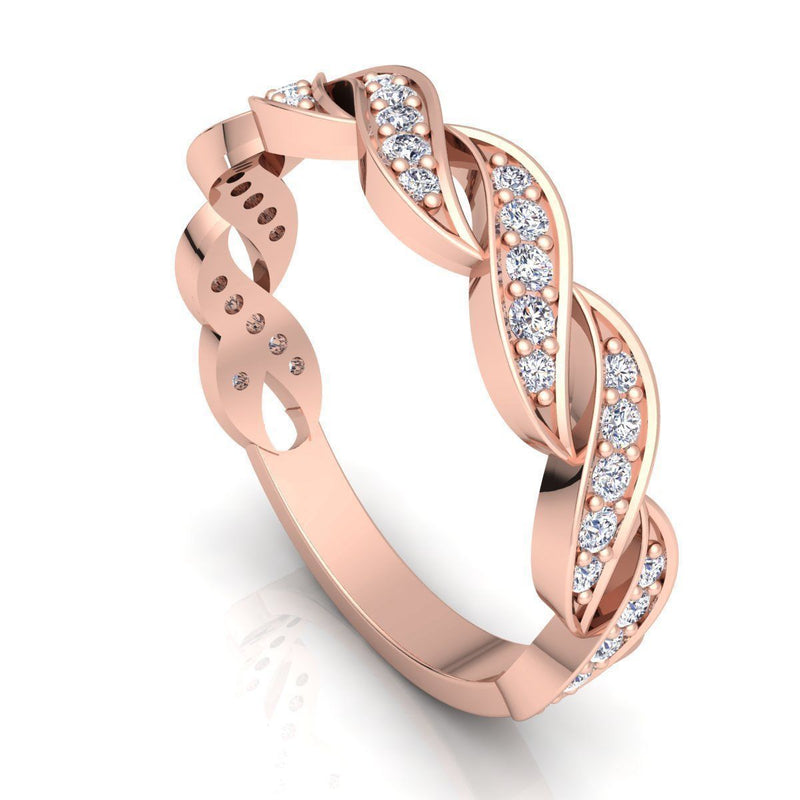 Rose Gold Band 16