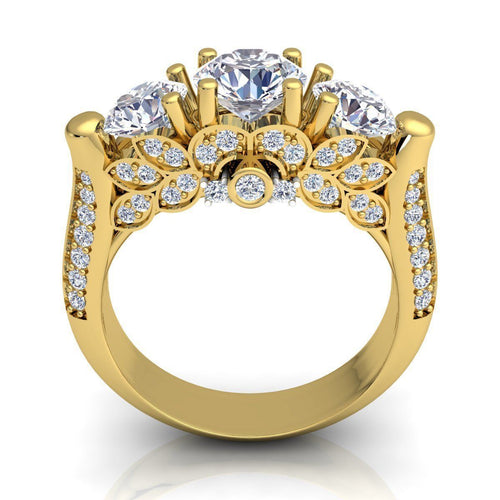 Tiffany Yellow Gold Engagement Ring