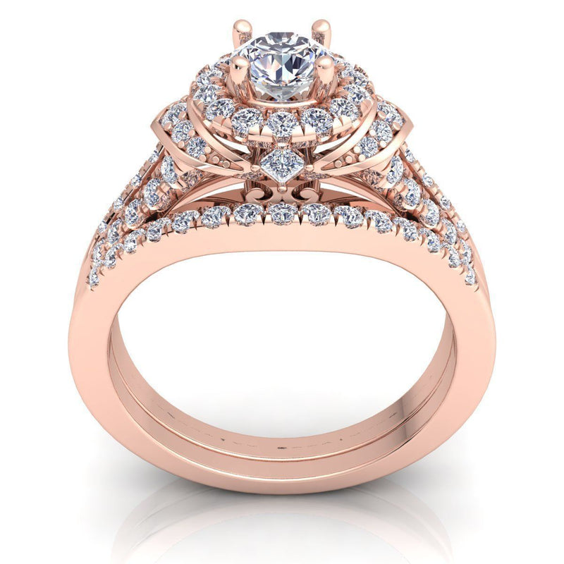 Vanessa Rose Gold Engagement Ring