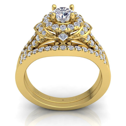 Reese Yellow Gold Engagement Ring