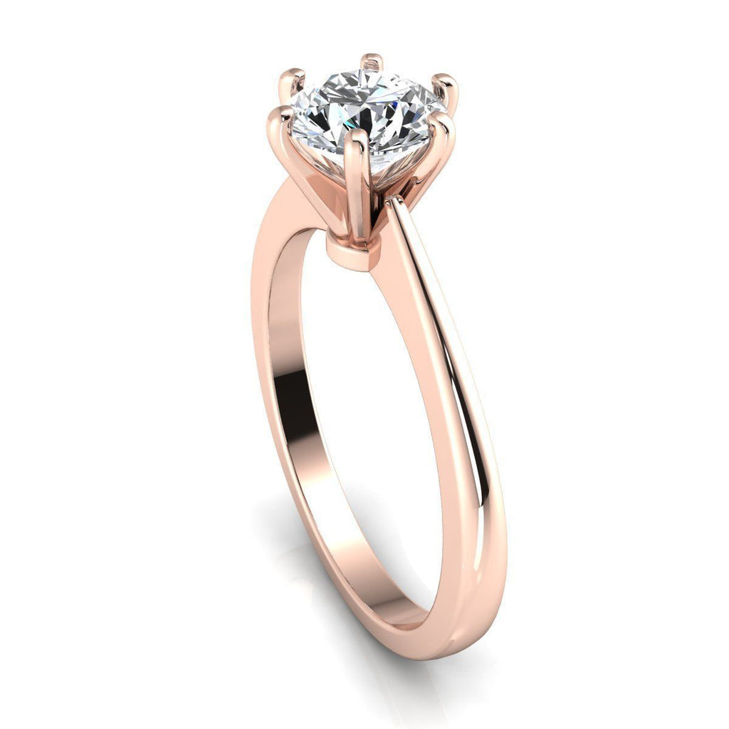 Skylar Rose Gold Engagement Ring