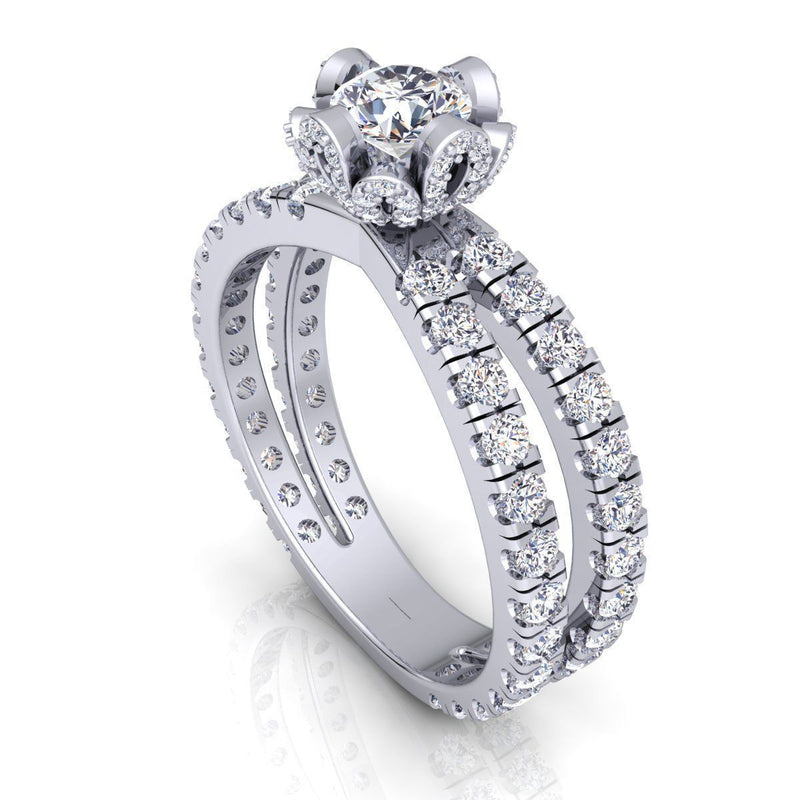 Ryleigh White Gold Engagement Ring